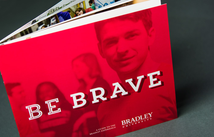 16 page Bradley University guide cover