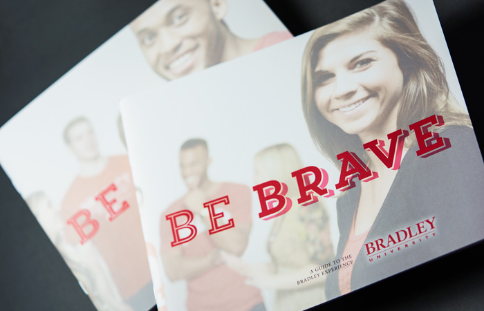 32 page Bradley University guide cover