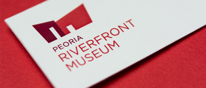 Peoria Riverfront Museum business card